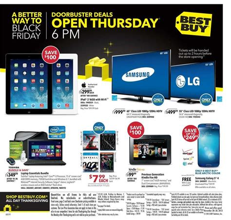 Best Vehicle Black Friday Deals Best Buy Black Friday 2013 Ad Scan And Deals