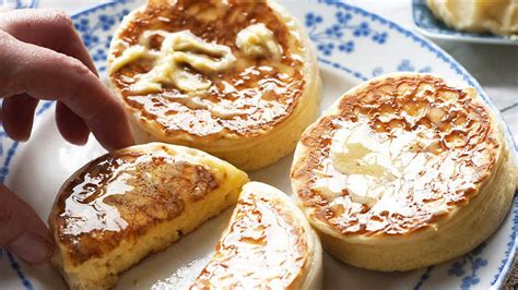 crumpets  whipped leatherwood honey butter recipe