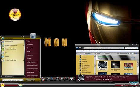 firefox iron man themes windows 7 themes iron man 187 malinor ru темы для windows
