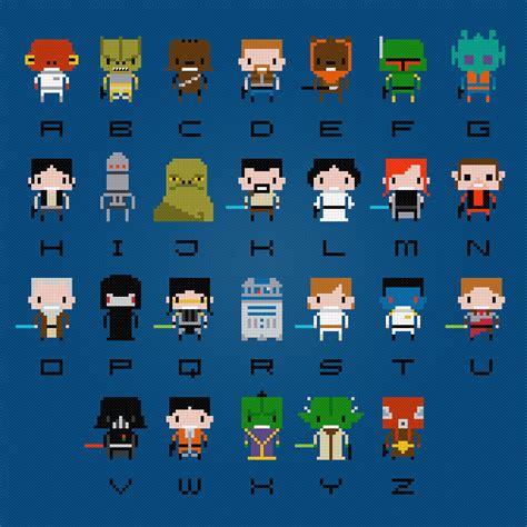 tumblr star wars pattern star wars cross stitch alphabet pattern