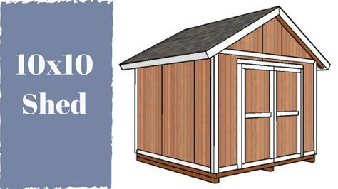 Cost To Build 8 X 10 Shed