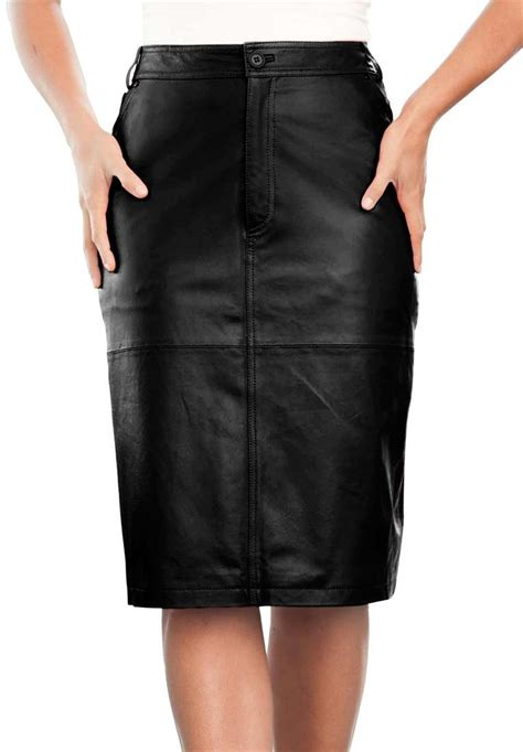black leather skirts black leather skirt