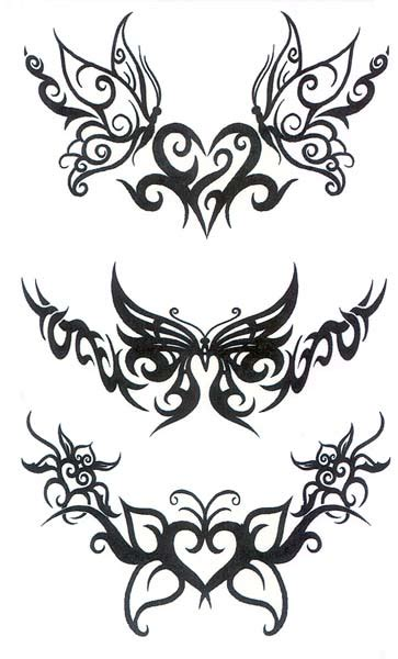 tribal tattoo designs for womens butterfly tribal ideas for tattoos