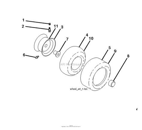 husqvarna ythv    parts diagram  wheels tires