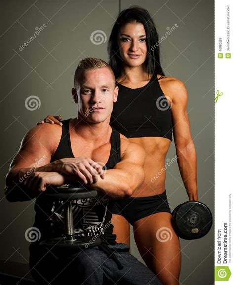 10 Fit Who Will You Work Out With by Fitness Working Out In Fitness Stock Image Image