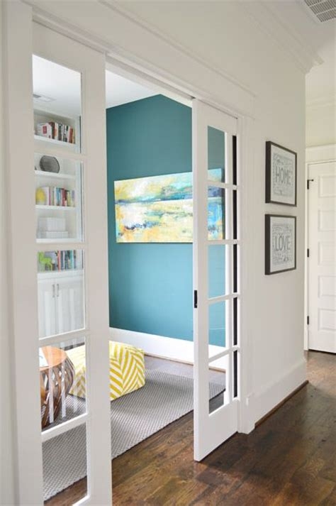 French Country Livingroom best 25 double pocket door ideas on pinterest glass