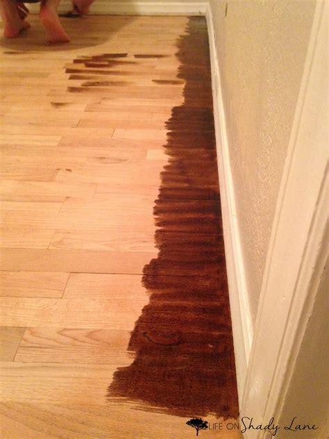 how to refinish hardwood floors part 2 on shady