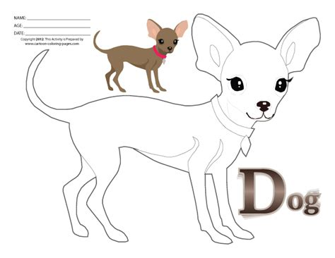 free coloring pages of real dog pictures