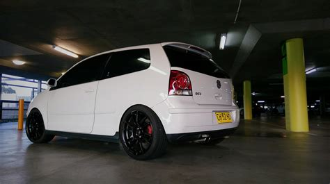 sold  candy white volkswagen polo gti