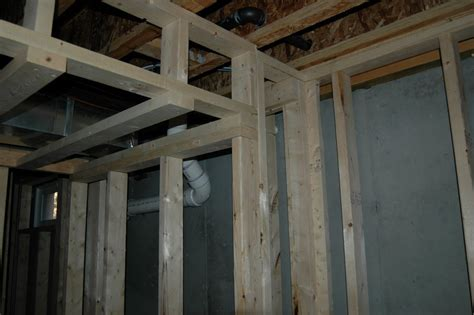 basement soffit framing basement framing exle 12 basement finish design