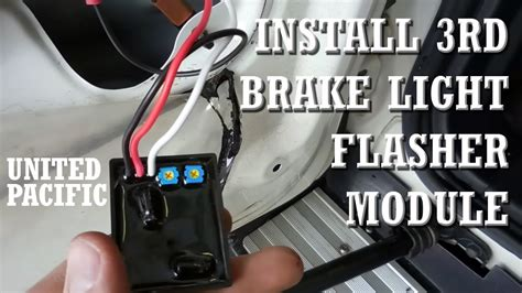 brake light flasher module 3rd brake light flasher module install fj cruiser