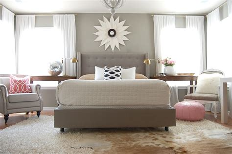 gray bedroom contemporary bedroom martha stewart