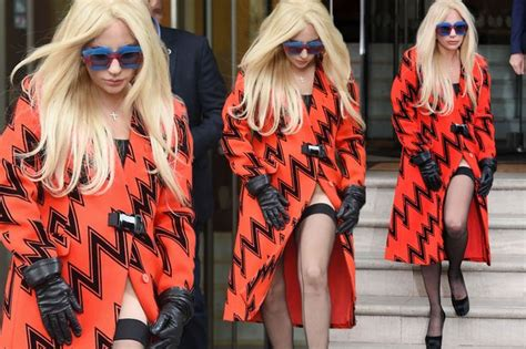 Gaga Wardrobe by Gaga Risks Wardrobe With Daring Split
