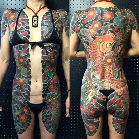 tattoo girl bodysuit 17 best images about japanese full body tattoo on