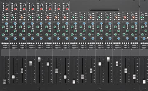 ssl xl desk dimensions channel strips solid state logic
