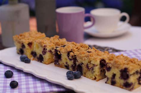 rezept für kuchen blueberry blondies usa kulinarisch