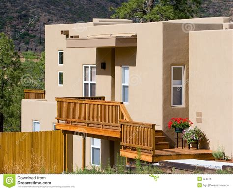 style of home adobe adobe style house stock photo image of house dwelling