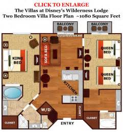 villas at wilderness lodge floor plan review the villas at disney s wilderness lodge
