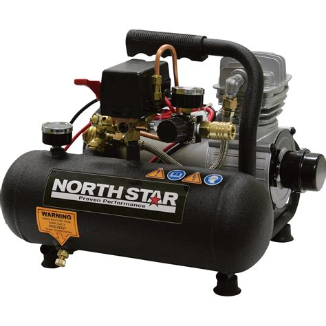 northstar portable electric air compressor 3 4 hp 1 gallon 1 3 cfm northern tool