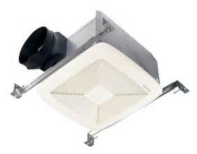 Bathroom Fan Housing Broan Qtxe080 80 Cfm Ultra Silent Bath Fan