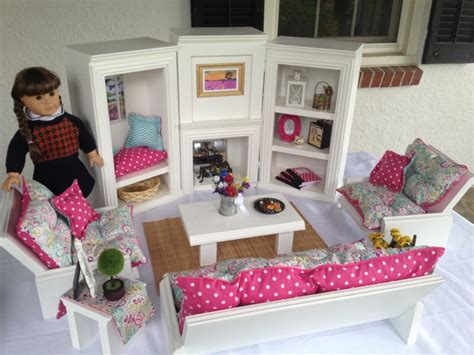 american girl doll living room set
