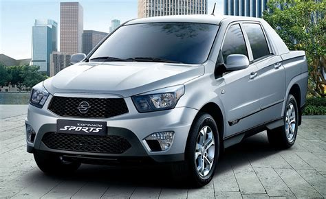 ssangyong korando sports ssangyong actyon sports photos reviews news specs buy car