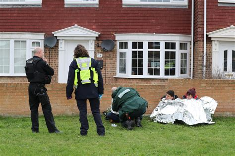 inflatable boat kent migrants found in family s front garden in kent after