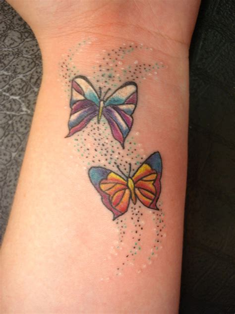 butterfly tattoo images on wrist butterfly tattoos on wrist for girls tattooshunt com