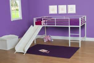 Bunk Bed With A Slide Dhp Furniture Junior Loft With Slide