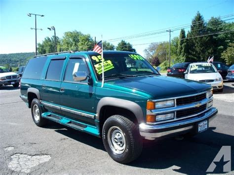 1995 chevrolet suburban 2500 ls for sale in hton new jersey classified americanlisted com