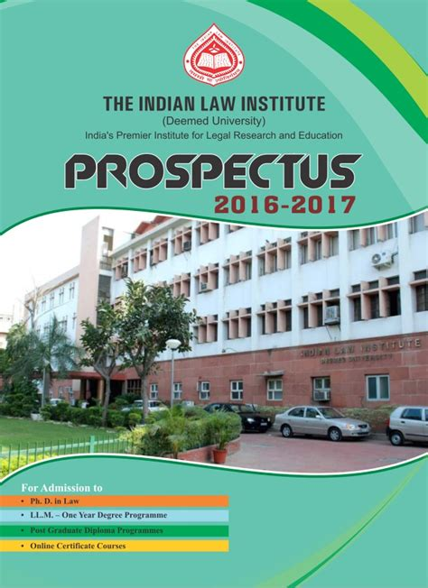 Indian Laws Search Indian Institute Prospectus 2016 17 Educationiconnect 7862004