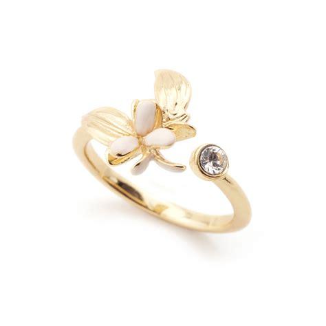 Flower Open Ring magnolia flower open ring fashion jewellery