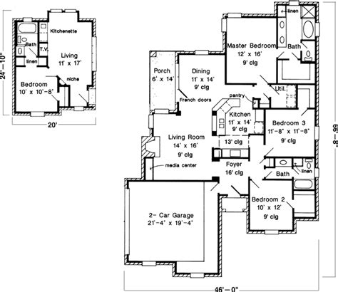 www monsterhouseplans com traditional style house plans 2117 square foot home 1