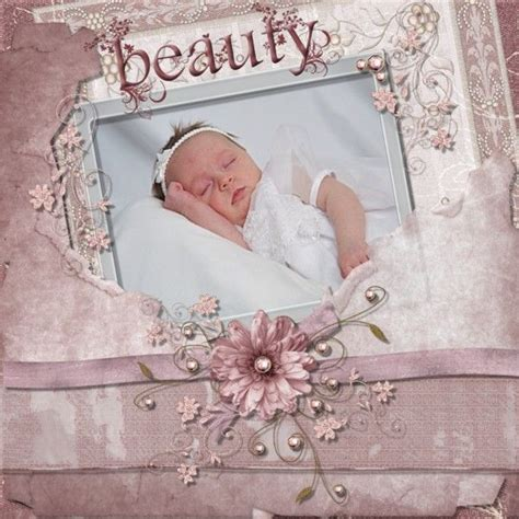 scrapbook layout baby girl 185 best images about scrapbooking on pinterest mini