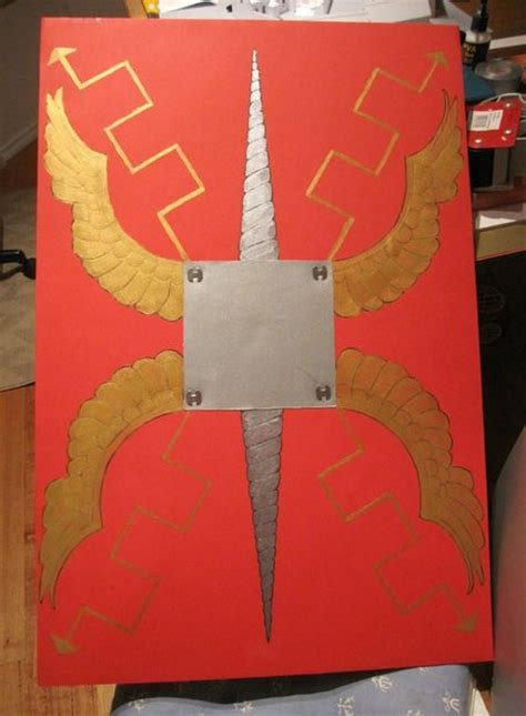 cardboard shield template how to make a shield