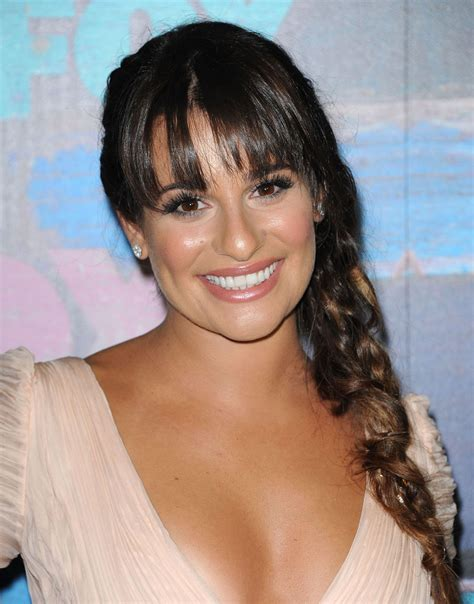 lea michele lea michele at fox all in west