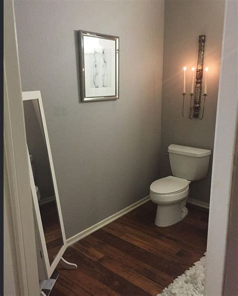 Bathrooms Colors Painting Ideas by My Bathroom Redo Paint Is Graceful Grey By Behr