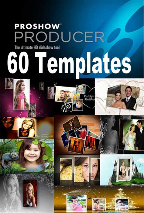 proshow template proshow producer templates 60 package 16 000 effects