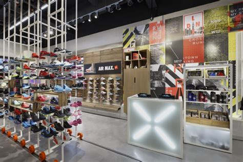 athletic shoe store crosstown running nike store by bearandbunny uk