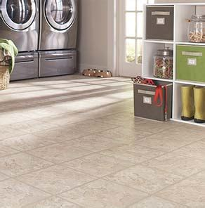 using vinyl tile flooring at the home depot