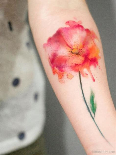 poppy flower tattoo design tattoo designs tattoo pictures
