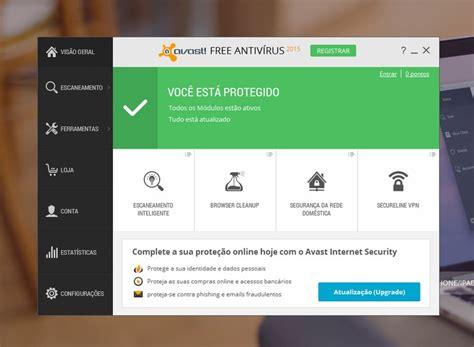 Antivirus Original avast free antiv 237 rus techtudo