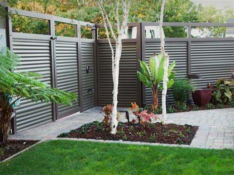 gardening landscaping backyard fences pictures idea
