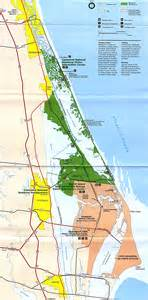 maps of canaveral and merritt island national seashore