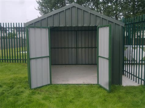 Steel Framed Shed sheds kentech engineering