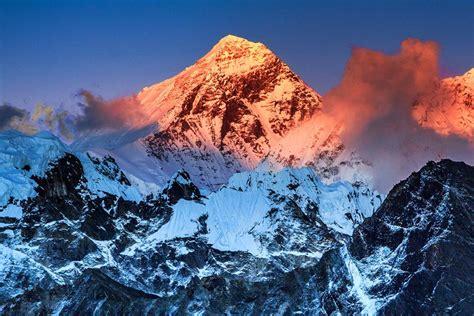imagenes impresionantes del everest el monte everest entre china y nepal monte everest