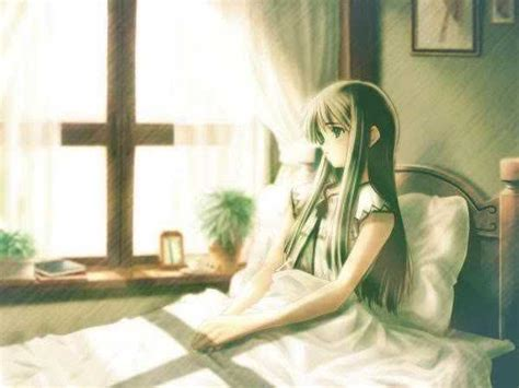 anime girl in bed nayu s reading corner april 2012