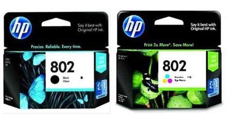 Tinta Hp 802 Xl Black 3x More Pages Original tinta hp 802 harga dan spesifikasi multikaweb mitra belanja kantor