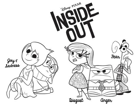 coloring pictures of inside out characters omalov 225 nky k vytisknut 237 page 2 of 57 i creative cz