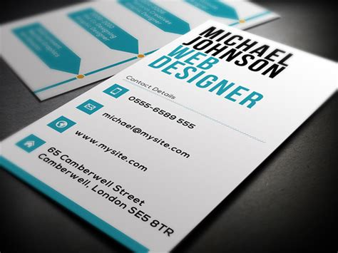 Business Card Design Website Template by Business Card Template For Web Designers Cardrabbit